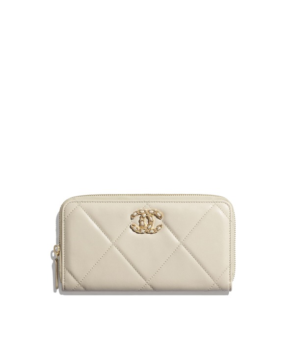 유럽직배송 샤넬 CHANEL CHANEL 19 Long Zipped Wallet AP1063B01901N5326
