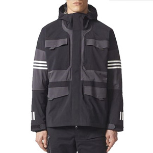 유럽직배송 아디다스 ADIDAS White Mountaineering Cross 3-Stripes Jacket