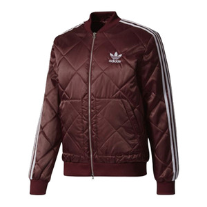 유럽직배송 아디다스 ADIDAS MEN ORIGINALS SST Quilted Jacket MAROON 자켓