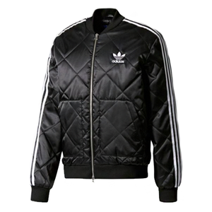 유럽직배송 아디다스 ADIDAS MEN ORIGINALS SST Quilted Jacket BLACK 자켓