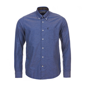 유럽직배송 바버 셔츠 BARBOUR THE OXFORD TAILORED FIT SHIRT MSH3230BL14