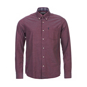 유럽직배송 바버 셔츠 BARBOUR THE OXFORD TAILORED FIT SHIRT MSH3230RE92