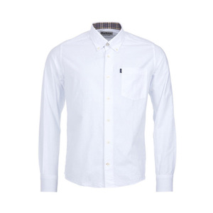 유럽직배송 바버 셔츠 BARBOUR THE OXFORD TAILORED FIT SHIRT MSH3230WH11