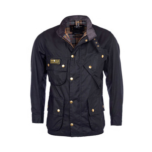유럽직배송 바버 BARBOUR INTERNATIONAL MEN'S ORIGINAL WAX JACKET MWX0004BK51