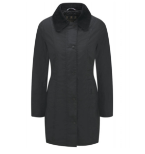 유럽직배송 바버 BARBOUR WOMEN'S BELSAY WAXED JACKET BLACK LWX0458BK91