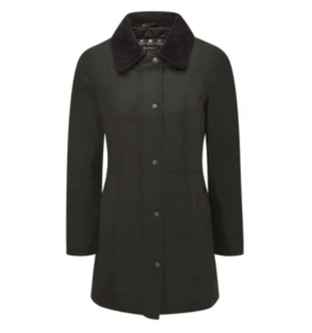 유럽직배송 바버 BARBOUR WOMEN'S BELSAY WAXED JACKET OLIVE LWX0458OL71