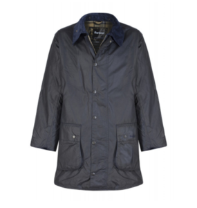유럽직배송 바버 BARBOUR MEN'S BORDER WAXED JACKET NAVY MWX0008NY91