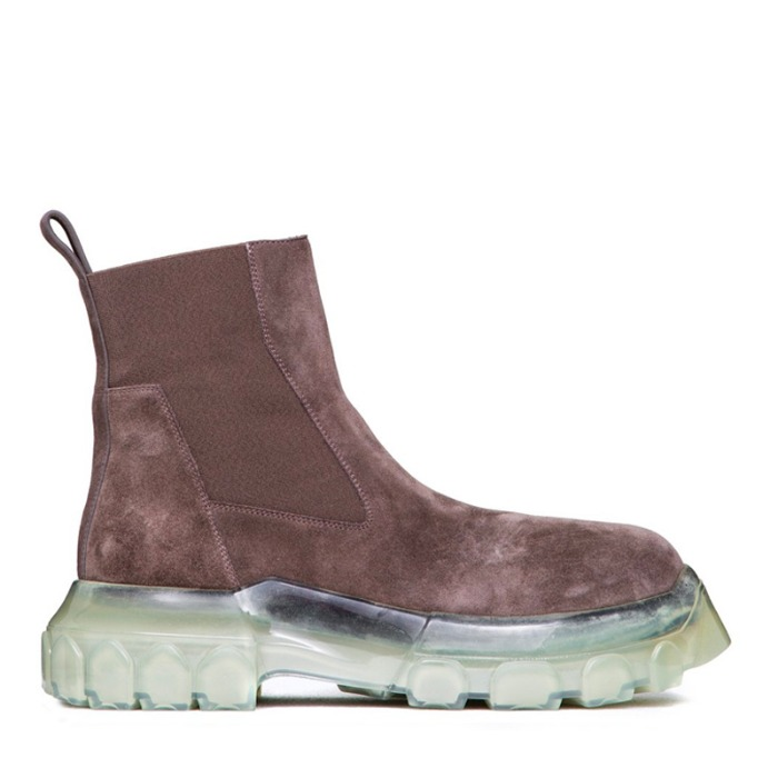 유럽직배송 릭오웬스 비틀 부츠 RICK OWENS BOZO TRACTOR BEETLE BOOTS IN DUST GREY
