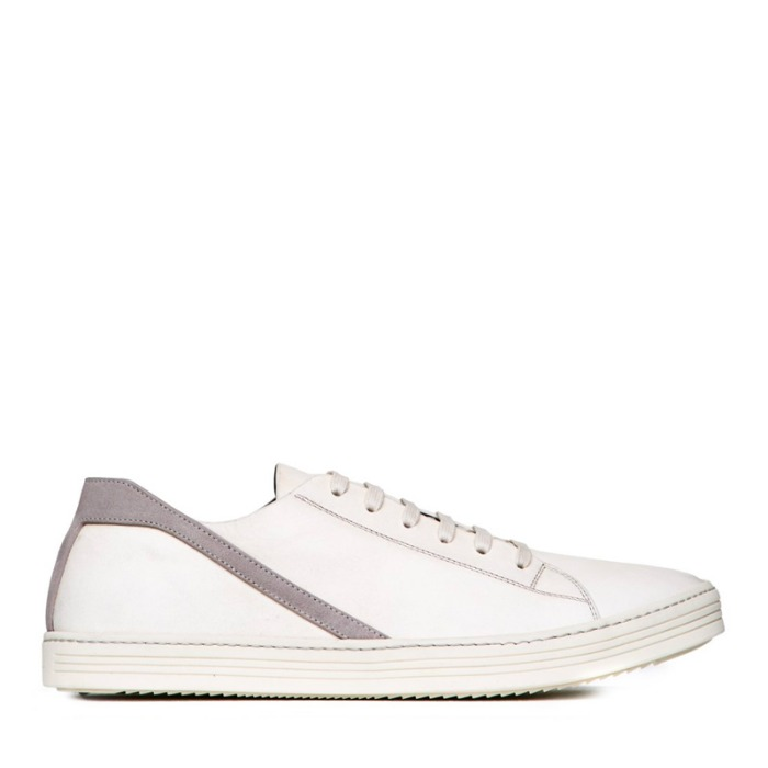 유럽직배송 릭오웬스 스니커즈 RICK OWENS LARRY GEOTHRASHER IN MILK WHITE
