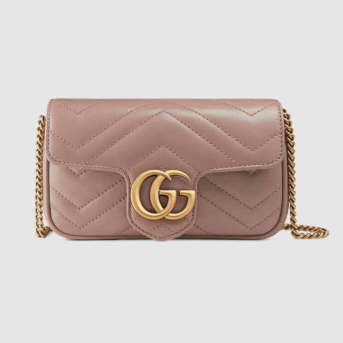 유럽직배송 구찌 GUCCI GG Marmont matelassé leather super mini bag 476433DSVRT5729