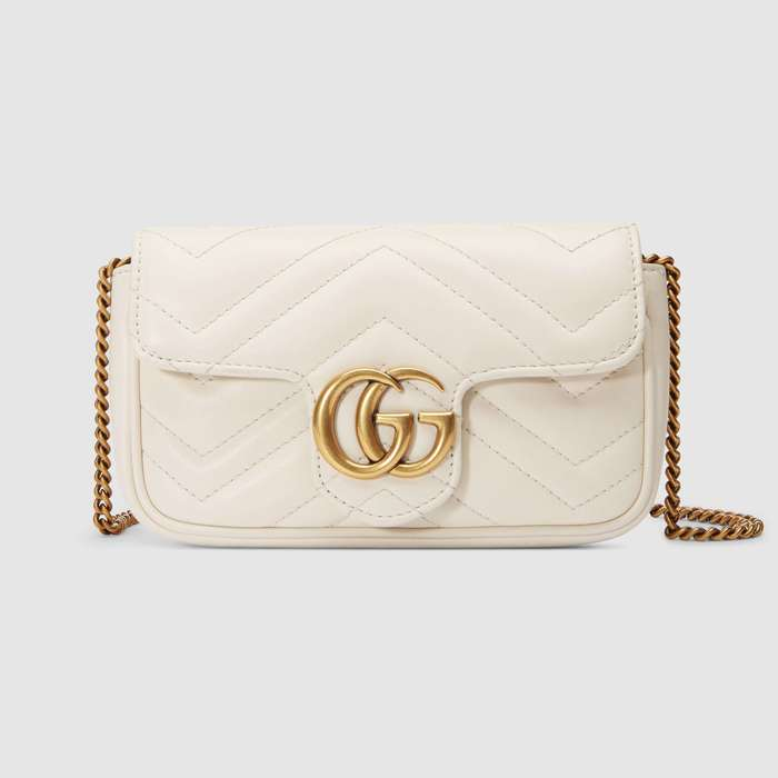 유럽직배송 구찌 GUCCI GG Marmont matelassé leather super mini bag 476433DSVRT9022