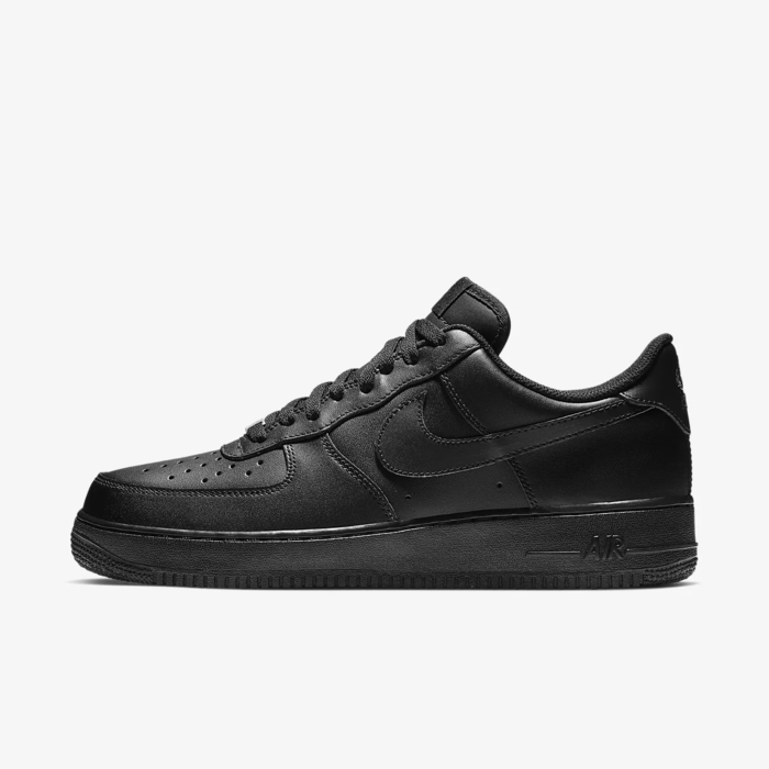 유럽직배송 나이키 NIKE Nike Air Force 1 '07 Triple Black Men's Shoe 315122-001