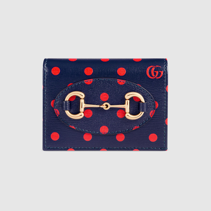 유럽직배송 구찌 GUCCI Gucci - Gucci 1955 Horsebit card case wallet 6218871V4BG4099
