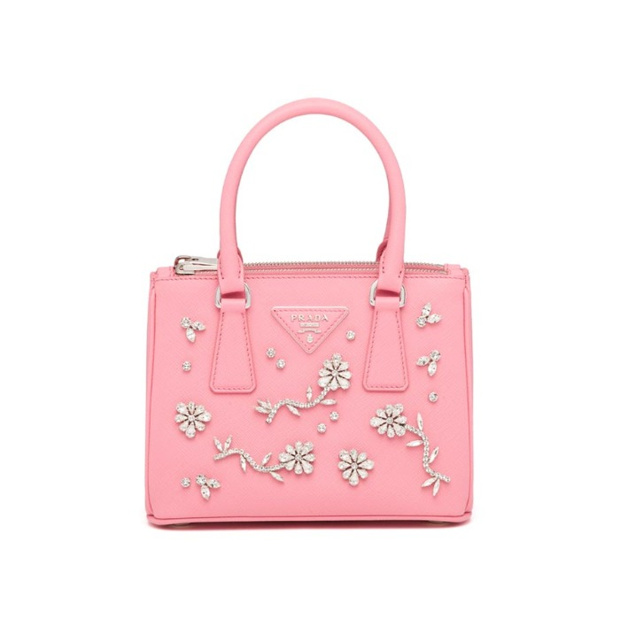 유럽직배송 프라다 스몰 숄더백 PRADA Small Prada Galleria bag with appliqués 1BA906_NZV_F0442_V_DEO