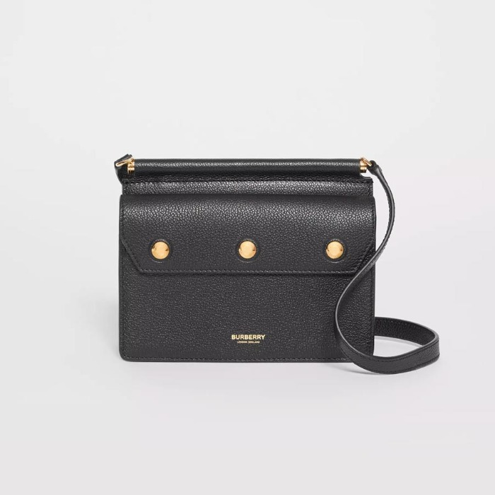 유럽직배송 버버리 미니 타이틀백 BURBERRY Mini Leather Title Bag with Pocket Detail 80145791