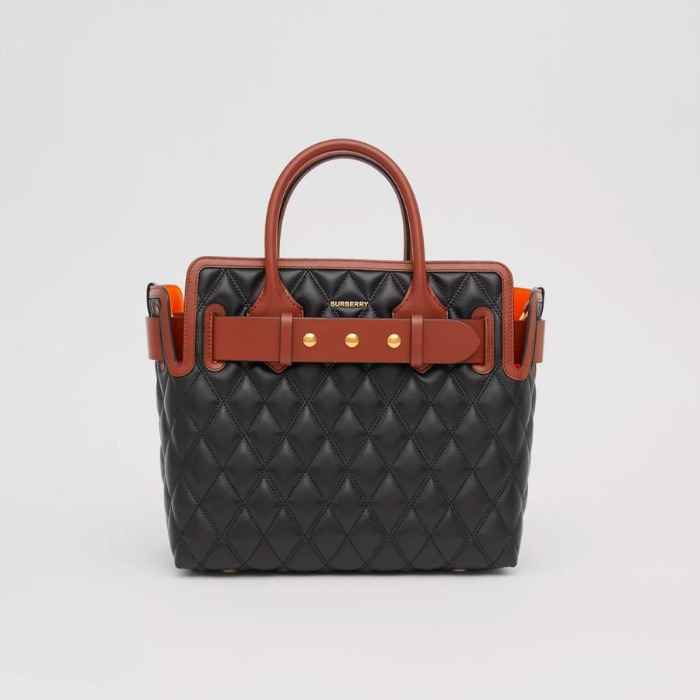 유럽직배송 버버리 토트백 BURBERRY The Small Quilted Lambskin Triple Stud Belt Bag 80231291
