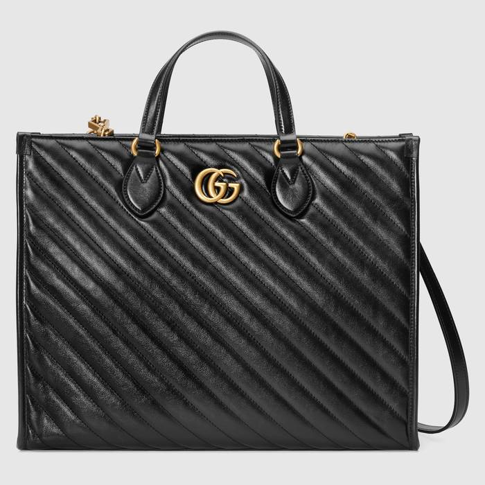 유럽직배송 구찌 GUCCI Gucci GG Marmont medium tote bag 6273320OLFT1000