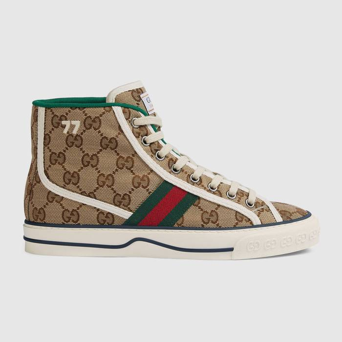 유럽직배송 구찌 GUCCI Gucci - Women's Gucci Tennis 1977 high top sneaker 627838HVK709765