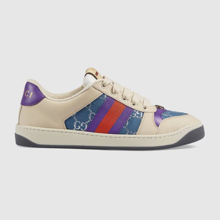 유럽직배송 구찌 GUCCI Gucci Women's Screener sneaker with Web 5776842C8304690