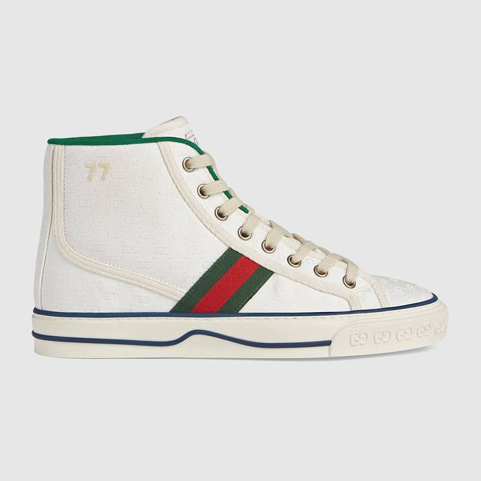 유럽직배송 구찌 GUCCI Gucci - Women's Gucci Tennis 1977 high top sneaker 62783899WM09074