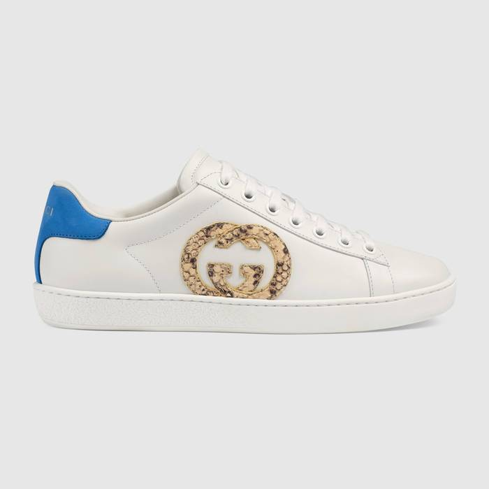 유럽직배송 구찌 GUCCI Gucci Women's Ace sneaker with Interlocking G 62782302JW09072