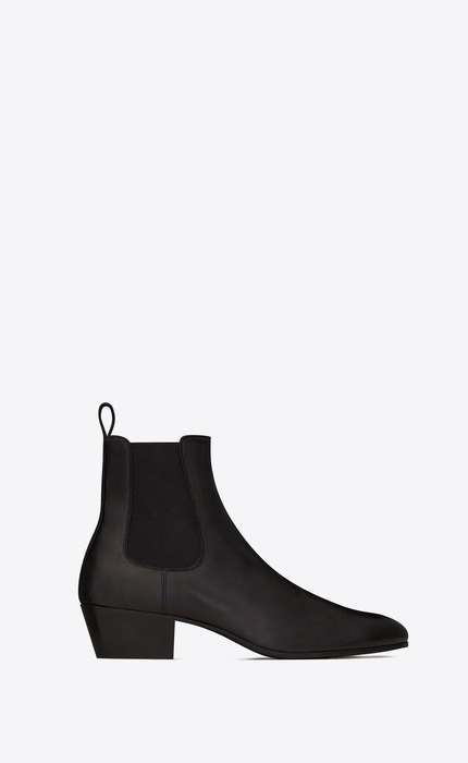 유럽직배송 입생로랑 SAINT LAURENT COLE chelsea boots in smooth leather 632388AKP001000