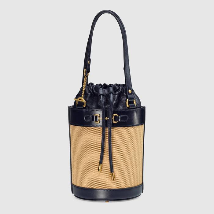 유럽직배송 구찌 GUCCI Gucci - Gucci Horsebit 1955 small bucket bag 637115H58HG2674