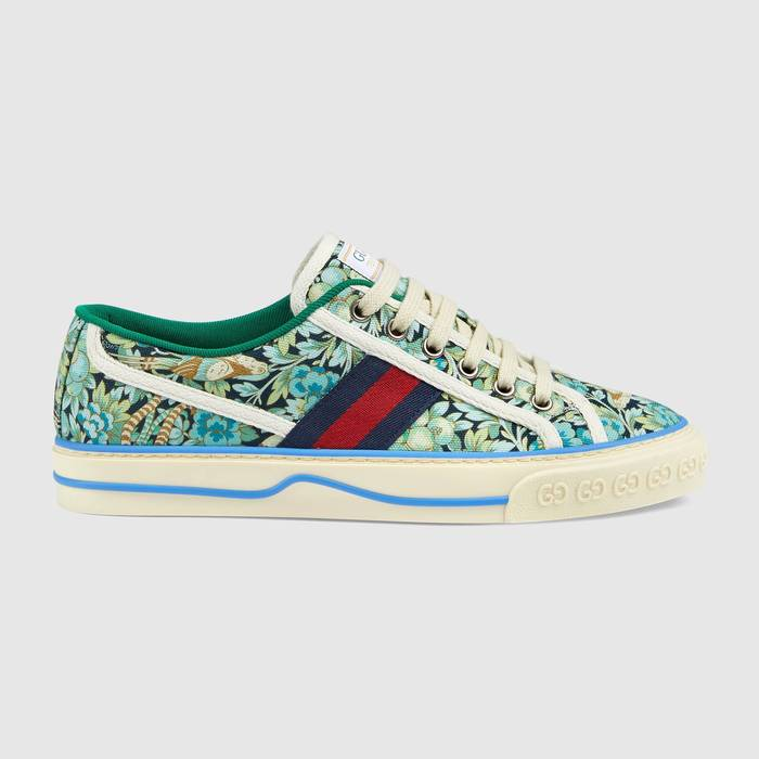 유럽직배송 구찌 GUCCI Gucci - Women's Gucci Tennis 1977 Liberty London sneaker 6061102H9304862