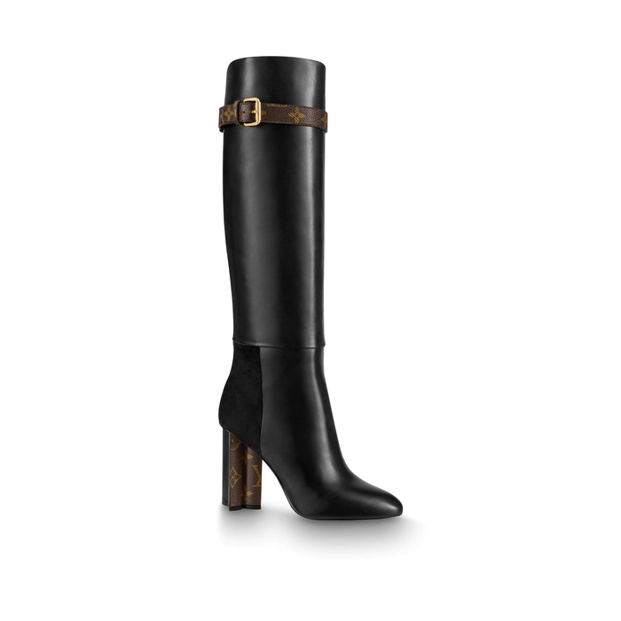 유럽직배송 루이비통 LOUIS VUITTON Silhouette High Boots 1A84M4