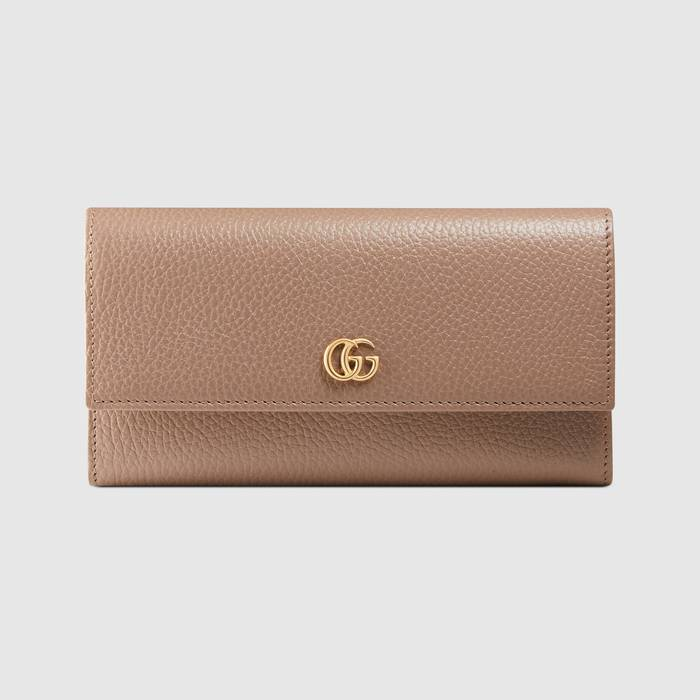 유럽직배송 구찌 GUCCI Gucci GG Marmont leather continental wallet 456116CAO0G5729