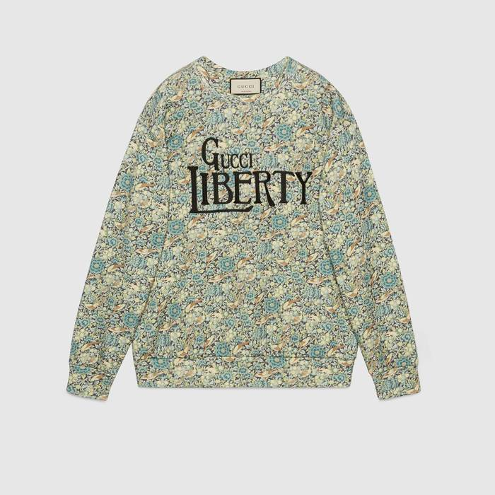 유럽직배송 구찌 GUCCI Gucci - Online Exclusive Gucci Liberty sweatshirt 638043XJCZ84581