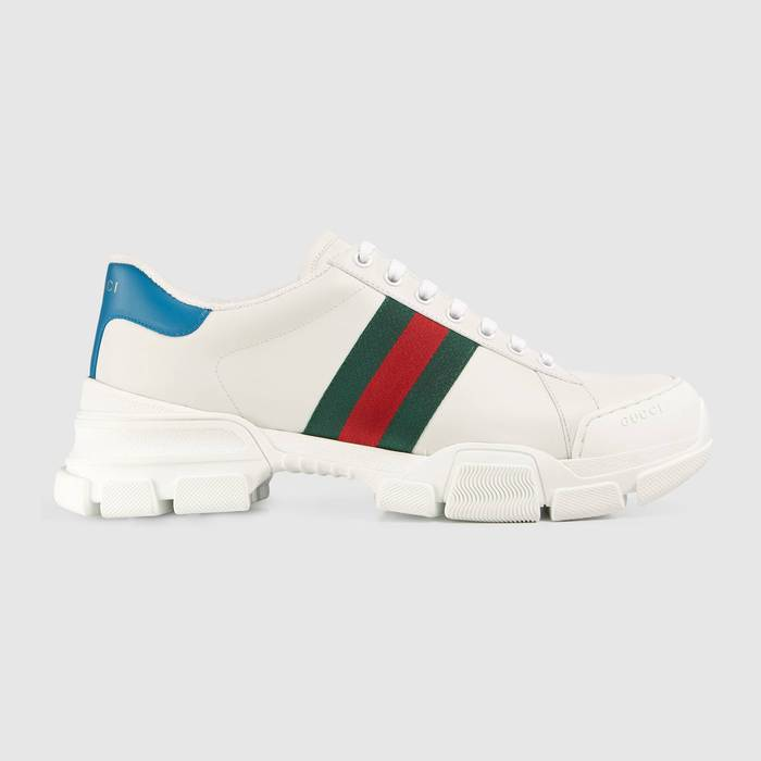 유럽직배송 구찌 GUCCI Gucci Men's sneaker with Web 6247010FI609071