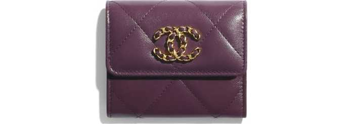 유럽직배송 샤넬 CHANEL Small Flap Wallet AP0954B03211N9317