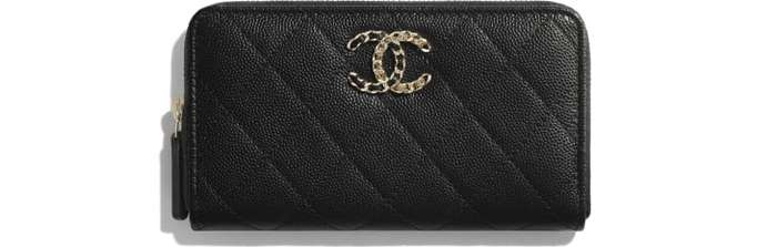 유럽직배송 샤넬 CHANEL Zip Wallet AP1837B0443294305