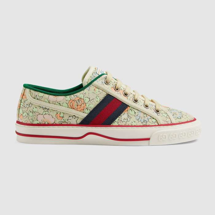 유럽직배송 구찌 GUCCI Gucci - Women's Gucci Tennis 1977 Liberty London sneaker 6061102I4103960