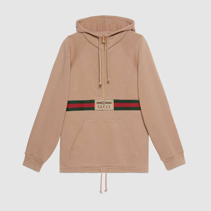 유럽직배송 구찌 GUCCI Gucci - Sweatshirt with Web and Gucci label 644656XJC3W2603