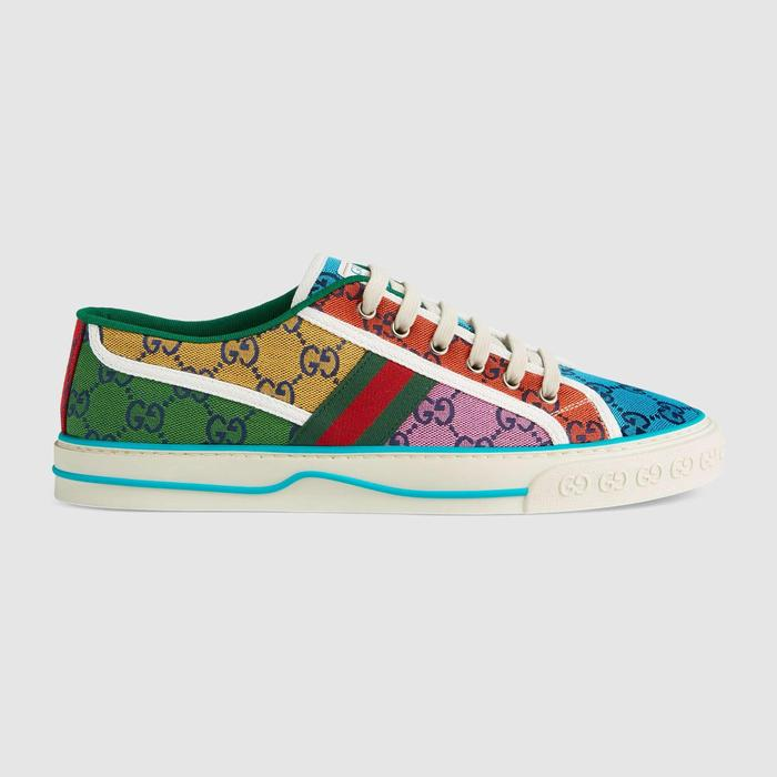 유럽직배송 구찌 GUCCI Gucci - Men's Gucci Tennis 1977 GG Multicolour sneaker 6636572UZ604275