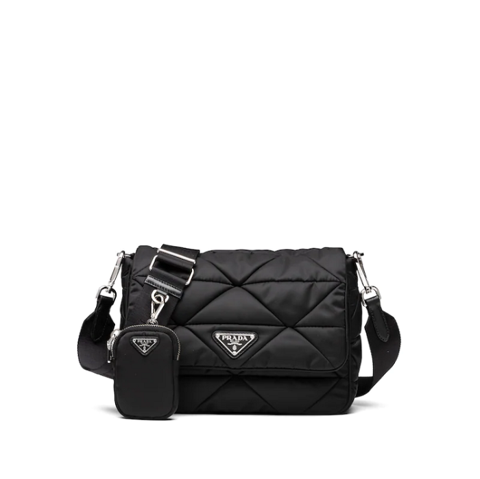 유럽직배송 프라다 나일론 숄더백 PRADA PADDED NYLON SHOULDER BAG 1BD290_2DJN_F0002_V_O1O