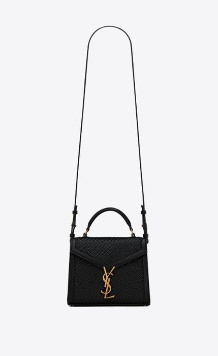 유럽직배송 입생로랑 SAINT LAURENT cassandra mini top handle bag in smooth leather 65586516N3W1000